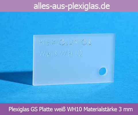h s kunststofftechnik online shop plexiglas gs platten wei plexiglas gs platten wei. Black Bedroom Furniture Sets. Home Design Ideas