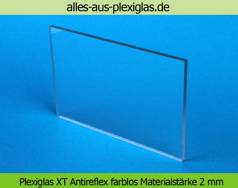 PLEXIGLAS<sup>®</sup> XT Antireflex / farblos / 2 mm