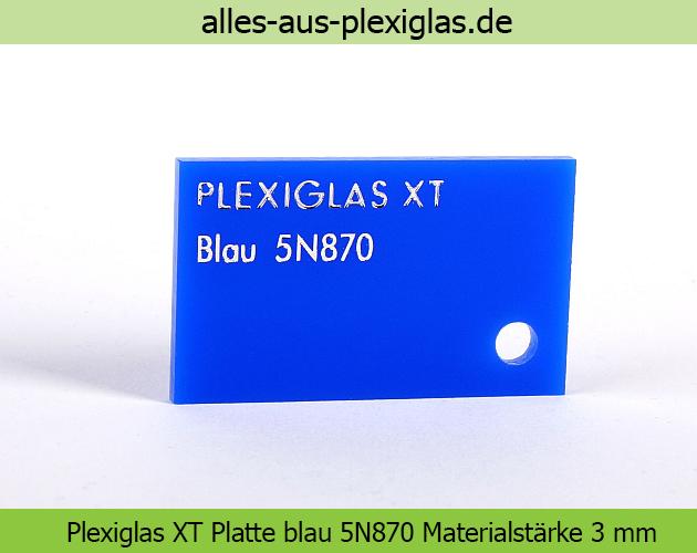 PLEXIGLAS<sup>®</sup> XT Platten farbig
