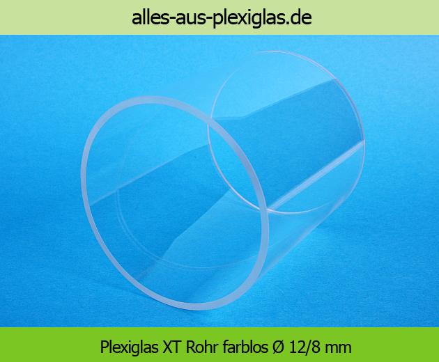 PLEXIGLAS<sup>®</sup> XT Rohr / farblos / Ø 12/8 mm