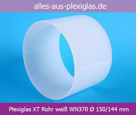 Acrylglas / PLEXIGLAS® XT Rohre weiß