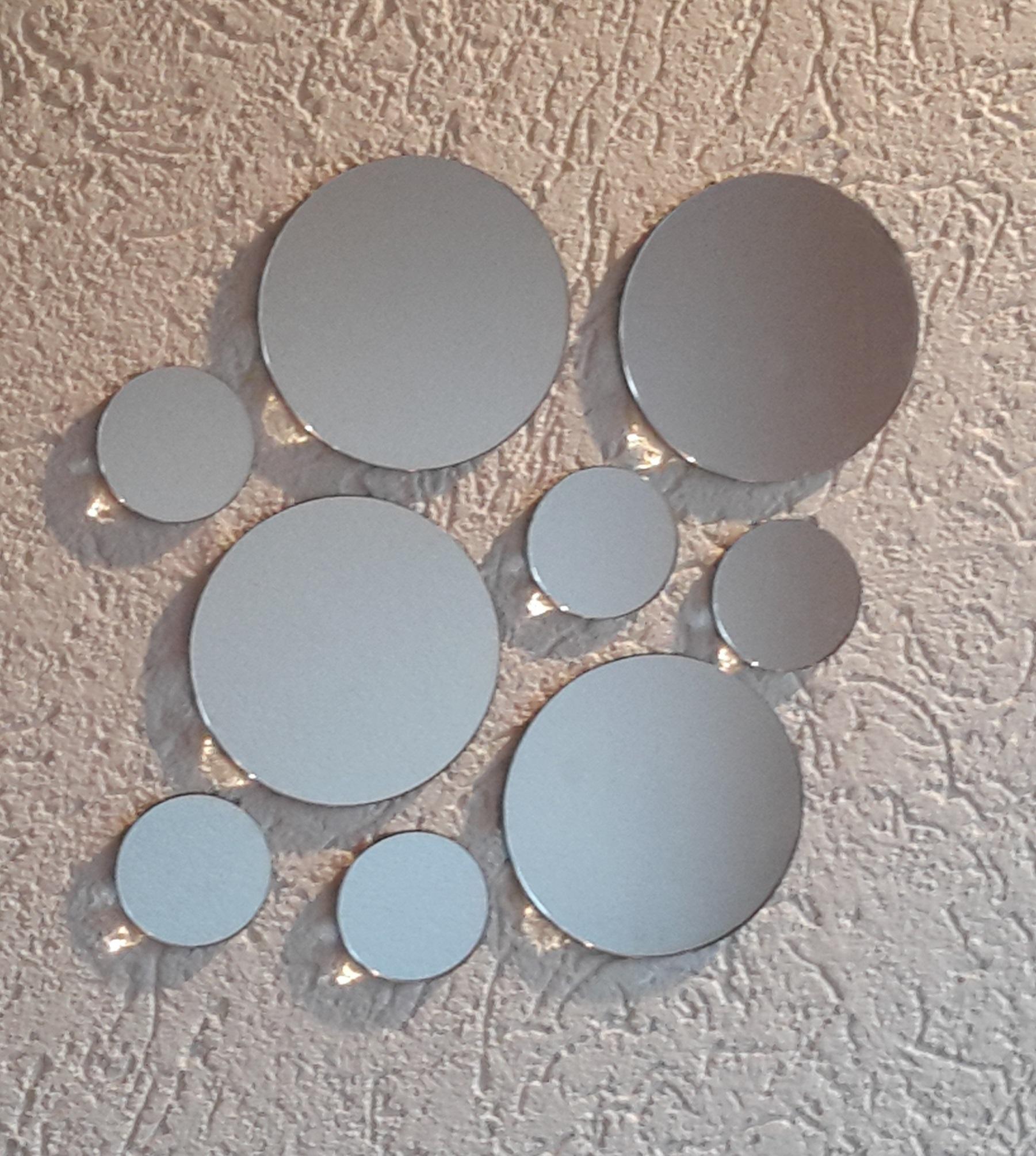 Spiegelset aus Acrylglas (Variante 1)